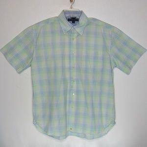 Tommy Hilfiger Men's Check Short Sleeve Shirt
